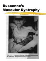 duscenne s muscular dystrophy