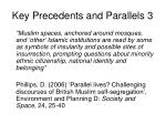 key precedents and parallels 3
