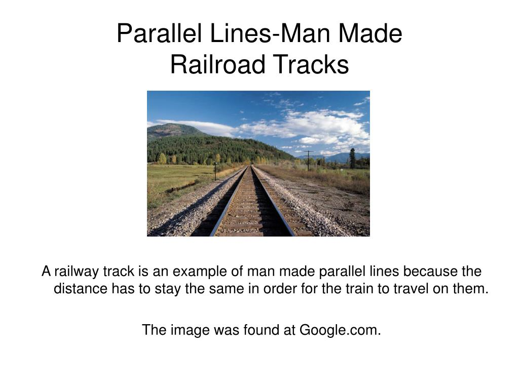 Parallel Lines-Man Made