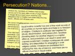 persecution nations