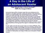 a day in the life of an adolescent reader2