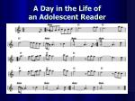 a day in the life of an adolescent reader7