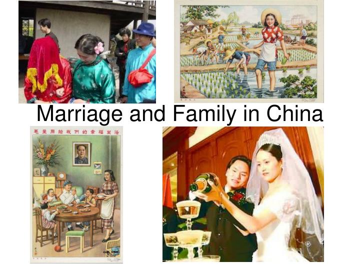 marriage and family in china n.