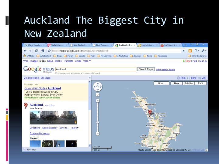 Auckland the biggest city in new zealand