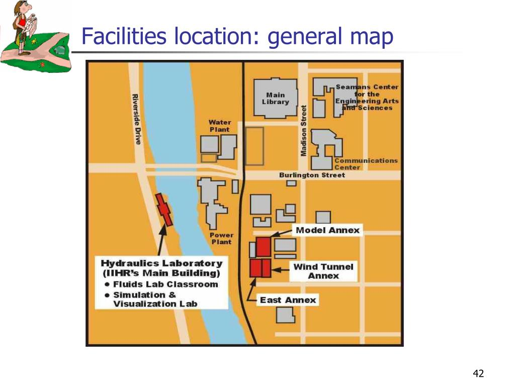 Facilities location: general map