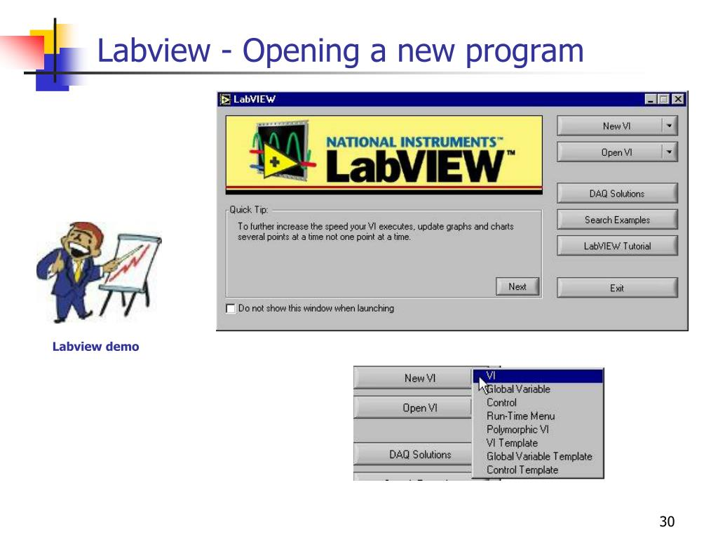 Labview - Opening a new program