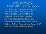 dms sampling equipment protocol7