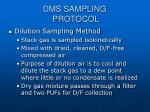 dms sampling protocol9