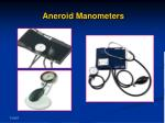 aneroid manometers
