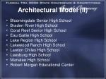 architectural model ii