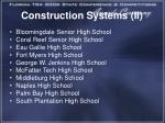 construction systems ii