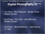 digital photography i1