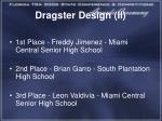 dragster design ii1
