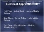 electrical applications i1