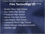film technology ii