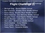 flight challenge i