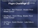 flight challenge i1