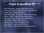 flight endurance ii