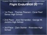 flight endurance ii1
