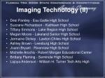 imaging technology ii