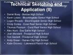 technical sketching and application ii
