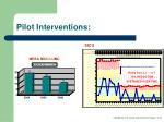 pilot interventions