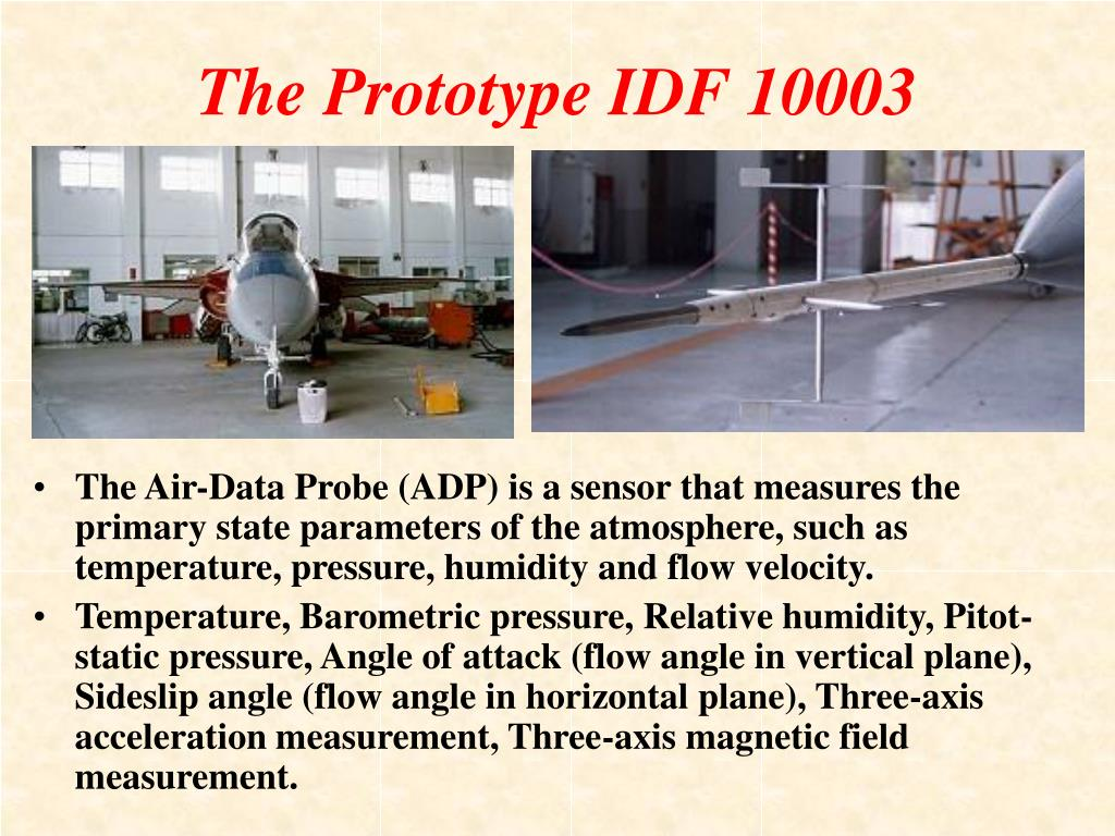 The Prototype IDF 10003