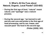 9 what s all the fuss about natural organic local foods 523 602