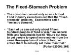 the fixed stomach problem