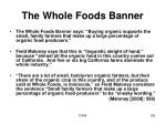 the whole foods banner