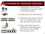 c consumer pc sound card serial card