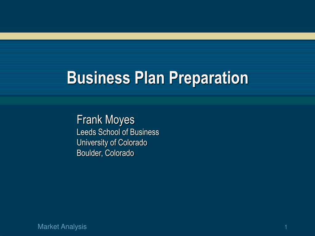 business plan preparation l.