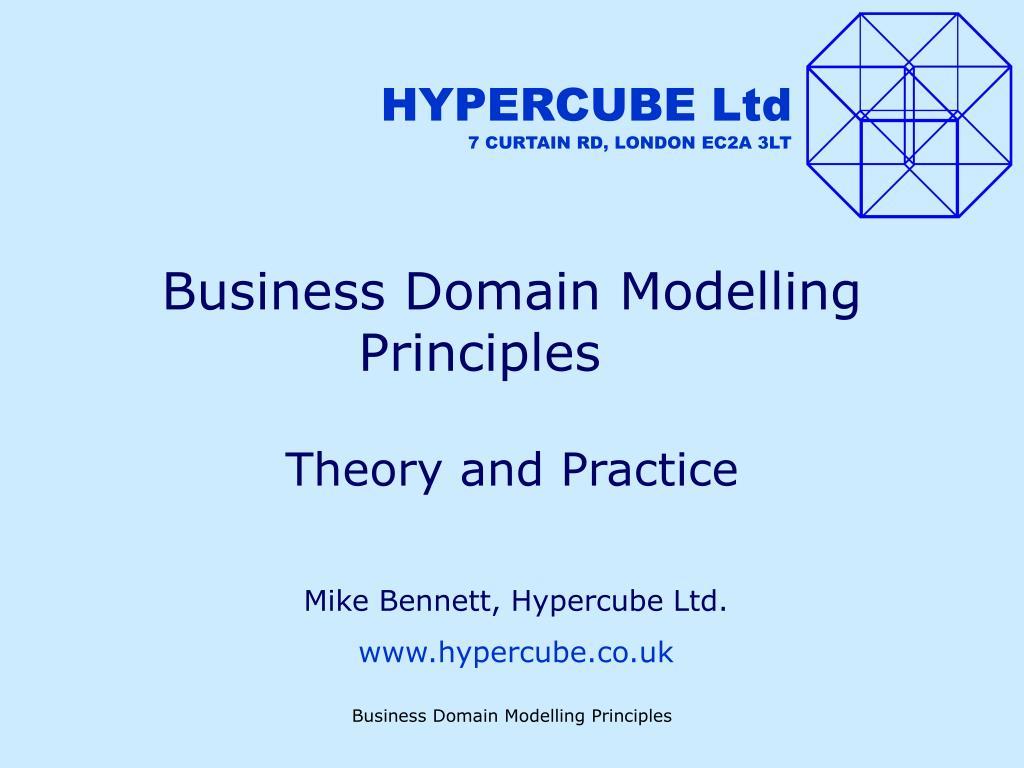 business domain modelling principles l.