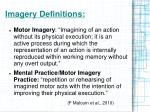 imagery definitions