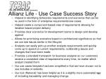 allianz life use case success story