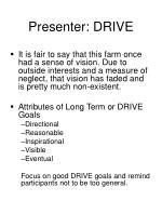 presenter drive