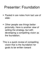 presenter foundation