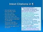 intext citations in