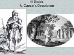iii druids a caesar s description