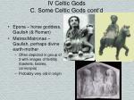 iv celtic gods c some celtic gods cont d14