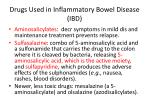 drugs used in inflammatory bowel disease ibd1