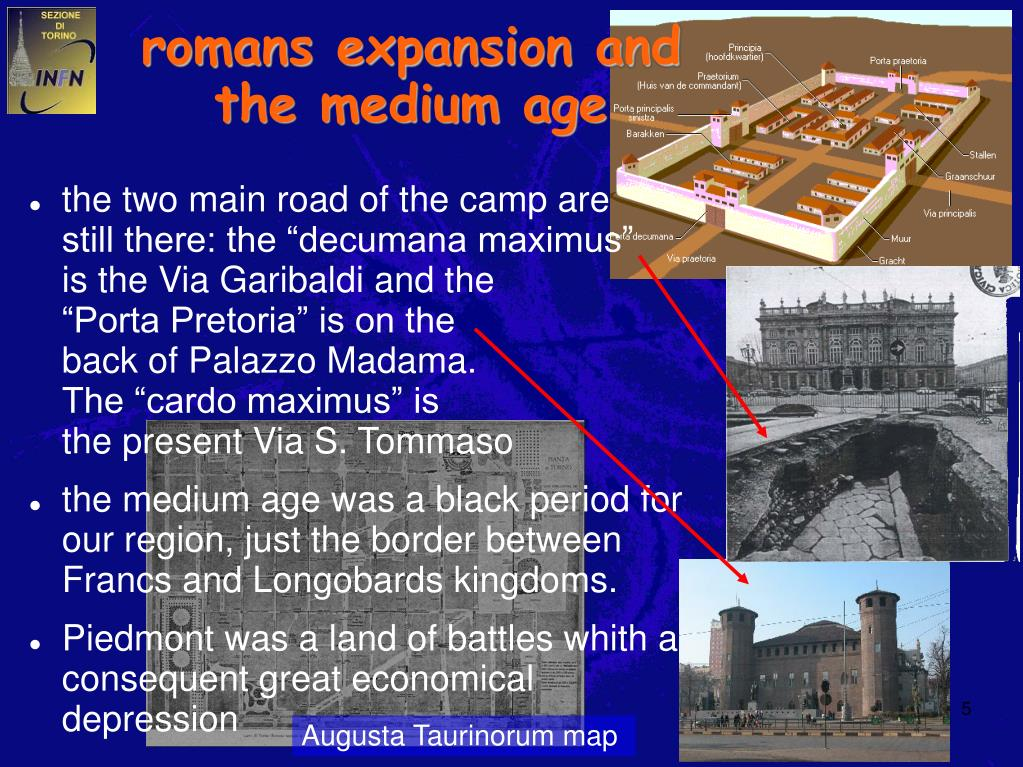 romans expansion and the medium age