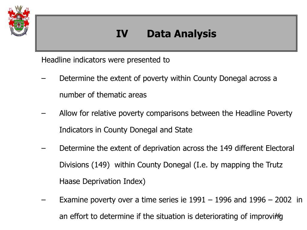 IVData Analysis