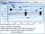 adjacent oceanic flow