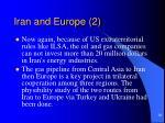 iran and europe 2