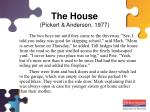 the house pickert anderson 1977