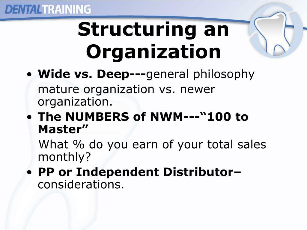 Structuring an Organization