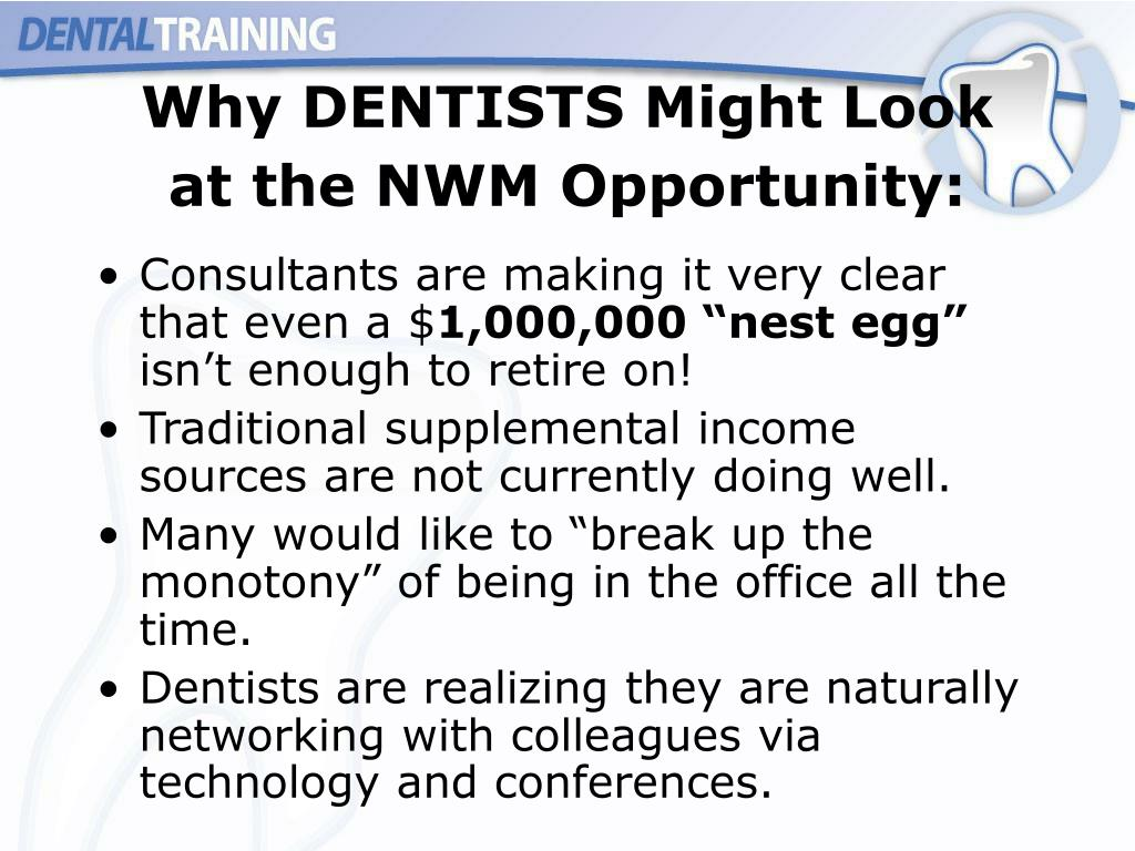 Why DENTISTS Might Look