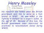 henry moseley15