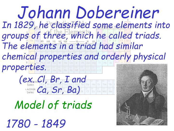 Johann dobereiner